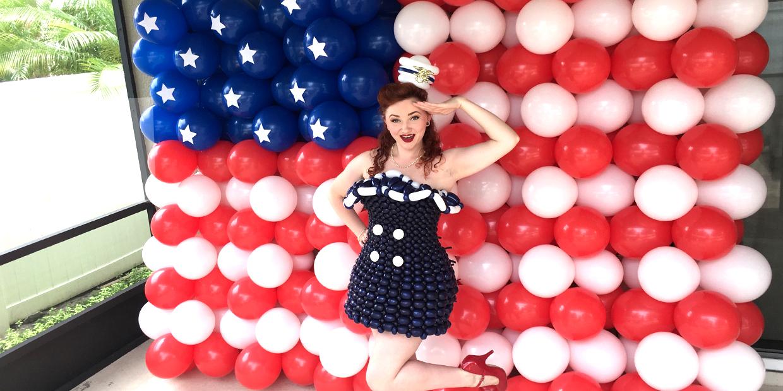 American Balloon Decor